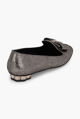 Sarno 3D Cracked Loafers