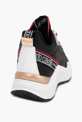 Halvin Transparent Panels Sneakers