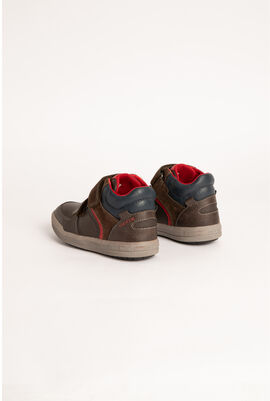 Arzach High Top Velcro Strap Sneakers