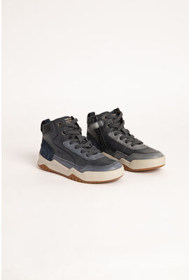 Perth High Top Leather Sneakers