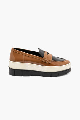 Roose Leather Wedge