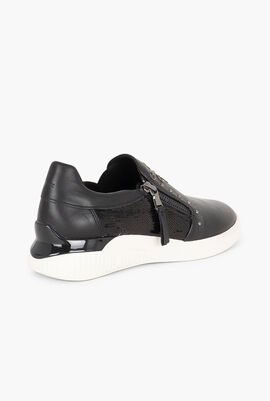 Theragon Embellished Slip-On Sneakers