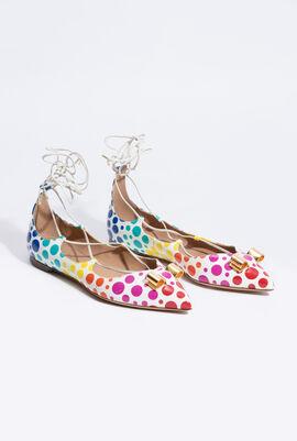 Claire Polka Dots Sandals