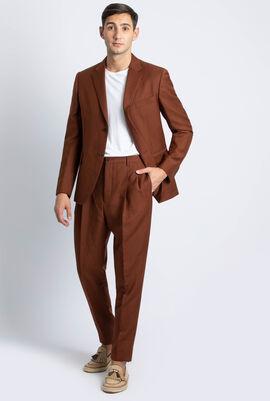 Stripes Tailored Fit Suit