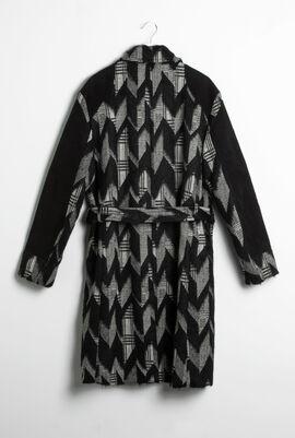 Chevron Jersey Jacket Dress