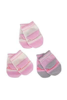 Set of 3 Baby Socks