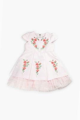Flower Sequins Dress