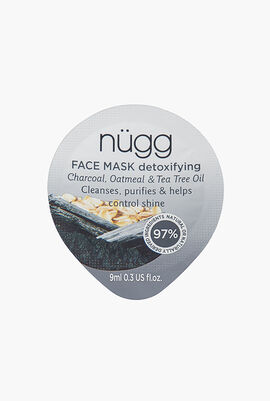 Detoxifying Face Mask, Charcoal Oatmeal & Tea Tree Oil