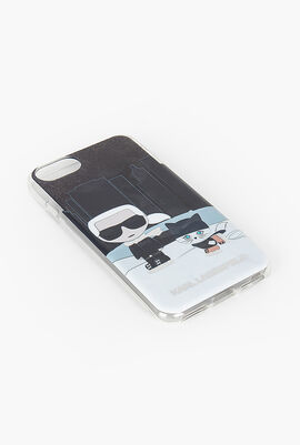 Choupette and Karl NYC iPhone 7 Case