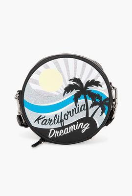 Karlifornia Round Crossbody Bag