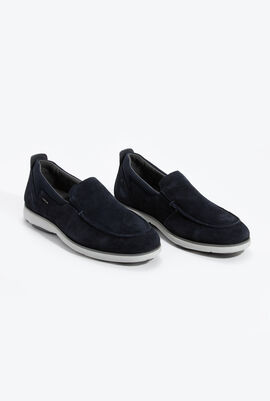 U Nebula F A Navy Slip-on Shoes