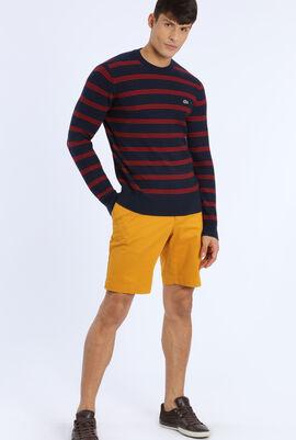 Red Strip Sweatshirt
