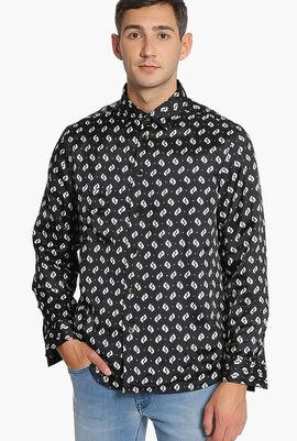 Ikat' Overshirt Reversible Shirt