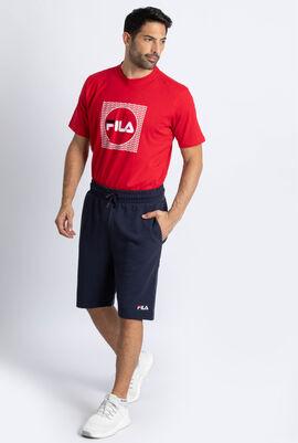 Logo Tapelong Fleece Shorts