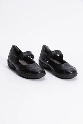J Shadow Black Flats
