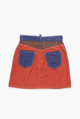 Colourblock Skirt