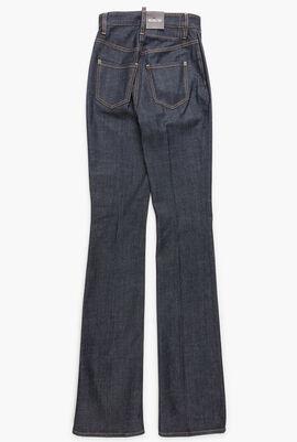 High Waist Twiggy Flare Angel Jeans