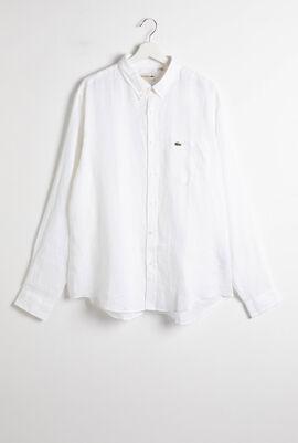 Regular Fit Oxford Long Sleeve Shirt