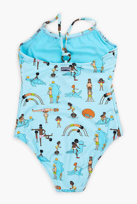 One-piece My Favorite Dad Swimsuit