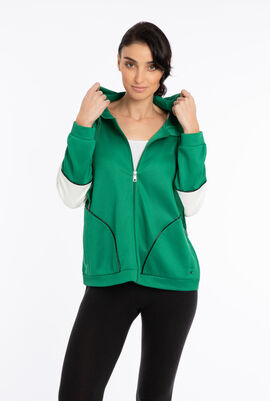 Ombrato Jersey Hooded Jacket