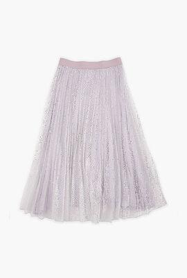 Sequinsed Dress With Belt