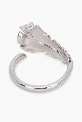 Simple Embellished Ring, 55 mm