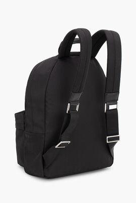 Logo Print Laptop Backpack