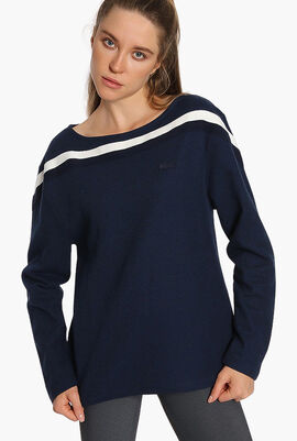 Tipping Slim Fit Sweatshirt