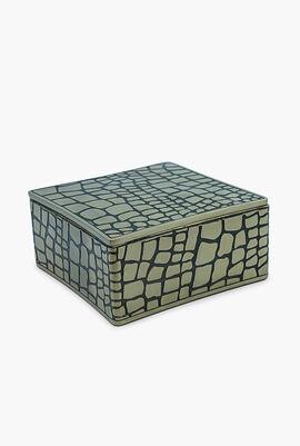 Crocodile Square Box