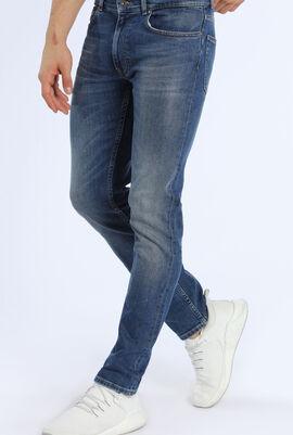 Slim Fit Stretch Denim 5-Pocket Jeans