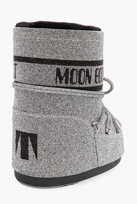 Classic Low 50° Swarovski Crystal-Embellished Snow Boots