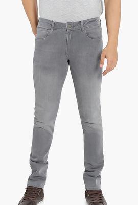Twill Denim Jeans