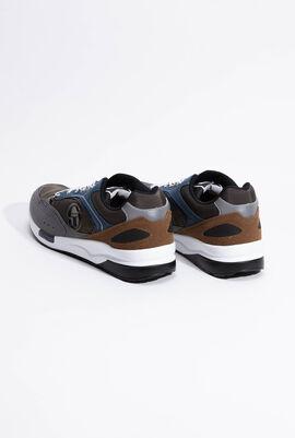 Kabir Grey/Navy Sneakers