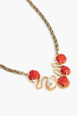 Necklace Orange