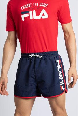 Oscar Contrast Piping Swim Shorts