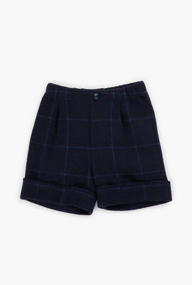 Elasticized Waist Bermuda Shorts
