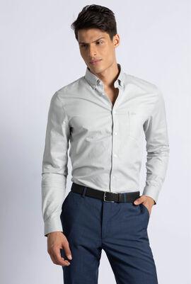 Regular Fit Cotton Mini Pique Shirt