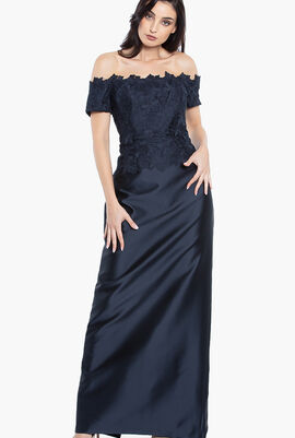 Evening Gown Woven Dress