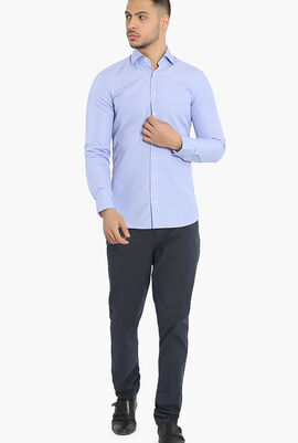 MayFair Journey End on End Slim Fit Shirt