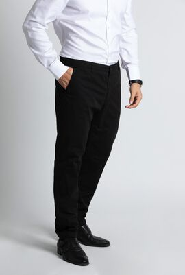 Slim Fit Stitched Chino Pants