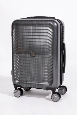 Lightweight Classic Logo Woodlock Spinner Suitcase