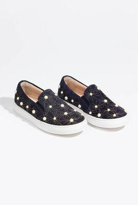 Cosmic Pearl Slip-on Sneakers