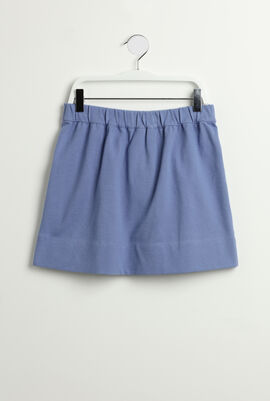 Bow Cotton Skirt