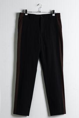 Side Stripe Cropped Trouser