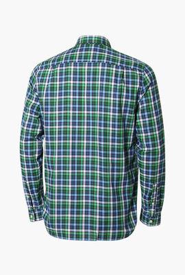 Regular Fit Checked Long Sleeves Shirt
