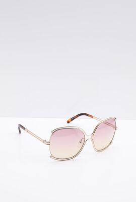 Square Grey Women's Sunglasses