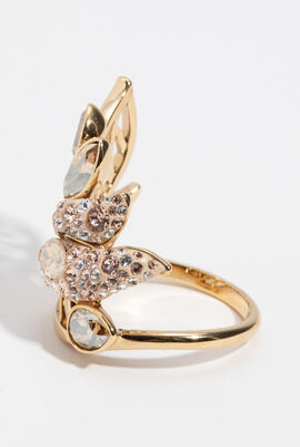 Graceful Bloom Cocktail Ring, 52 mm