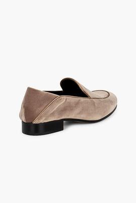 Monogram Velvet Loafers
