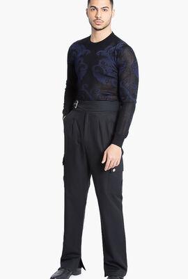 Gianni Printed Sweater