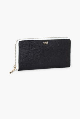 Delphine Long Zip Around Wallet